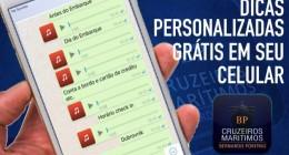 Dicas via whats app da BP Cruzeiros