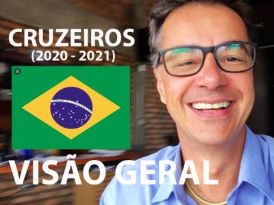 TEMPORADA CRUZEIROS BRASIL 2021 #zarpou