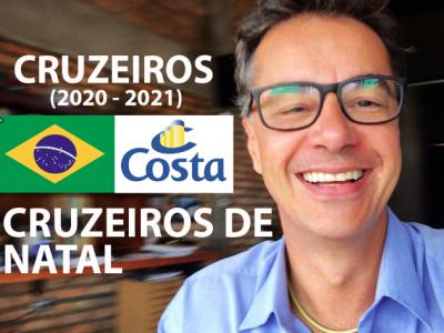 NATAL 2020 COSTA CRUZEIROS #zarpou