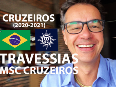 TRAVESSIAS 2020 MSC CRUZEIROS